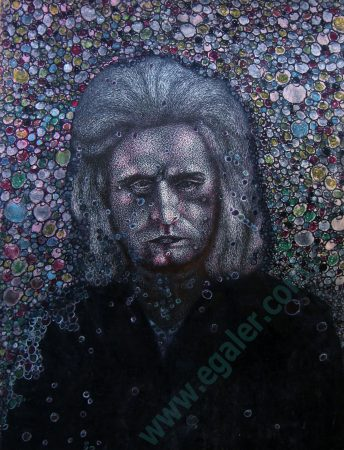 VojislavJakic, Autoportret, Self Portrait
